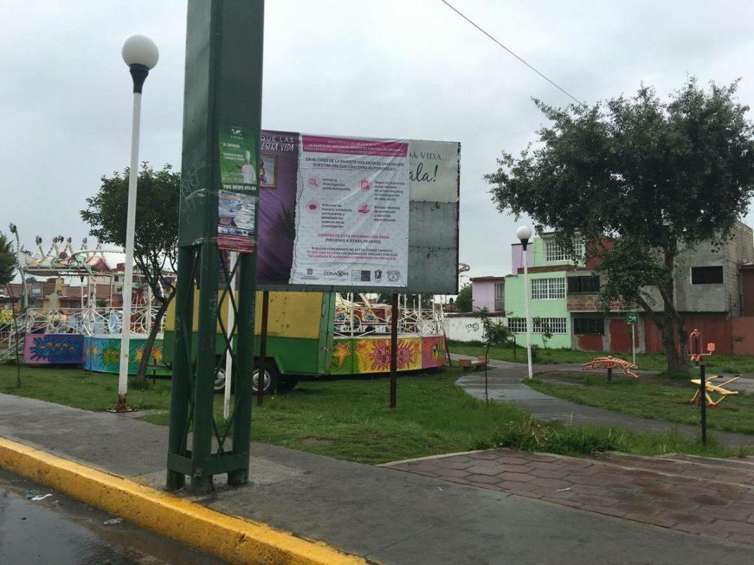 Así lucen las áreas verdes de Los Sauces en Toluca