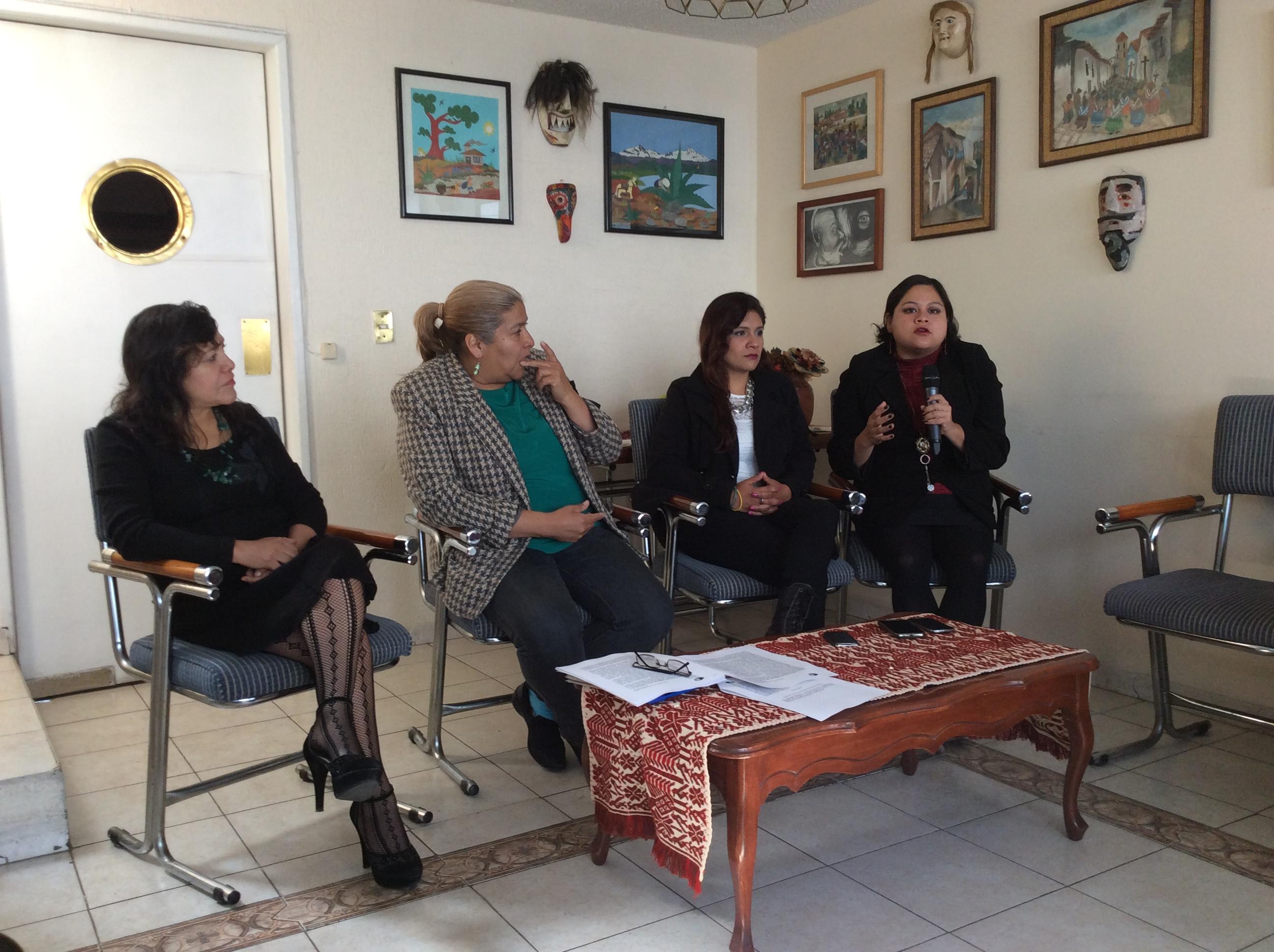 Alerta de Género, marketing político: ONG