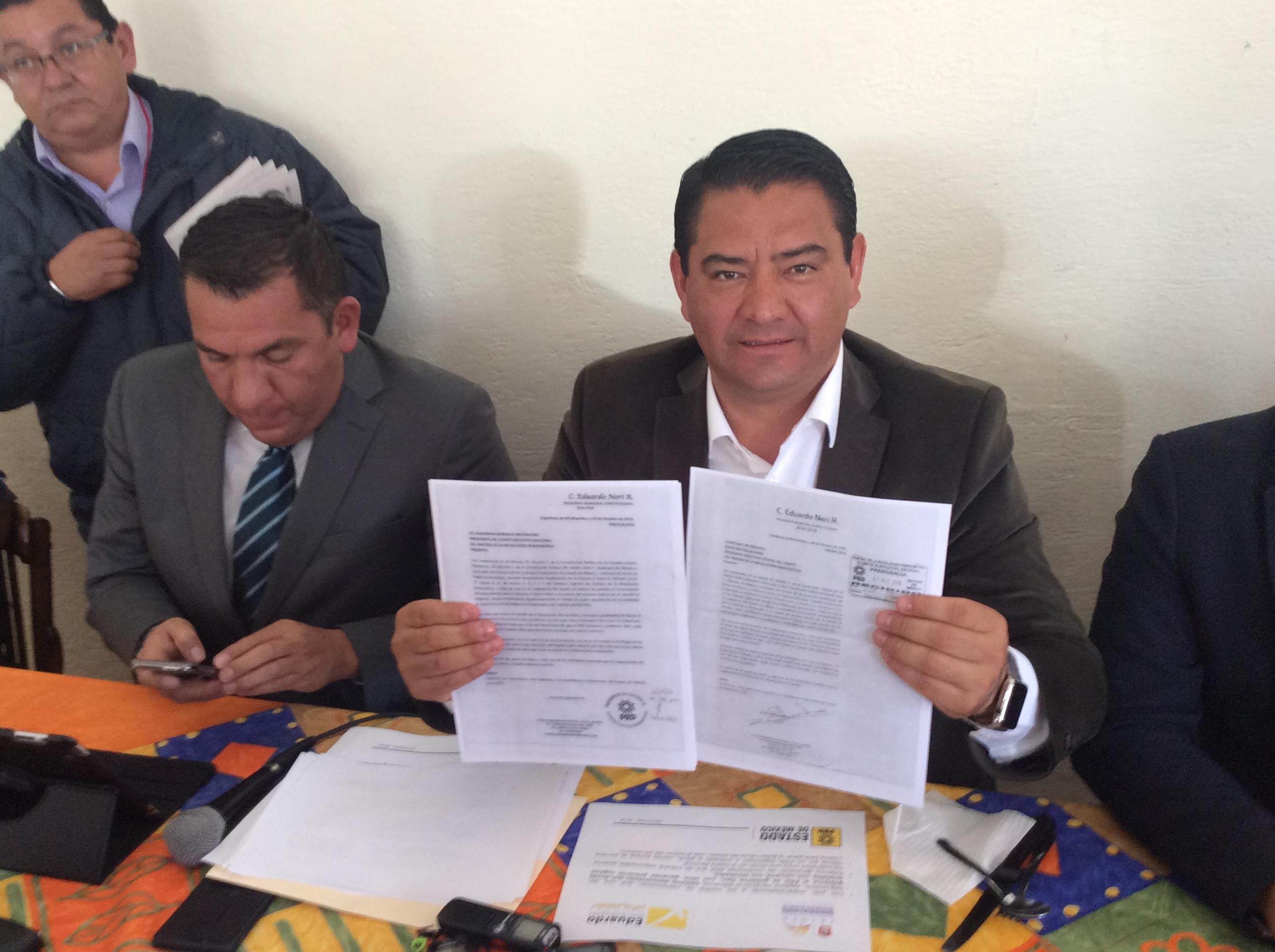 Alcalde de Capulhuac dejará el cargo, quiere ser gobernador