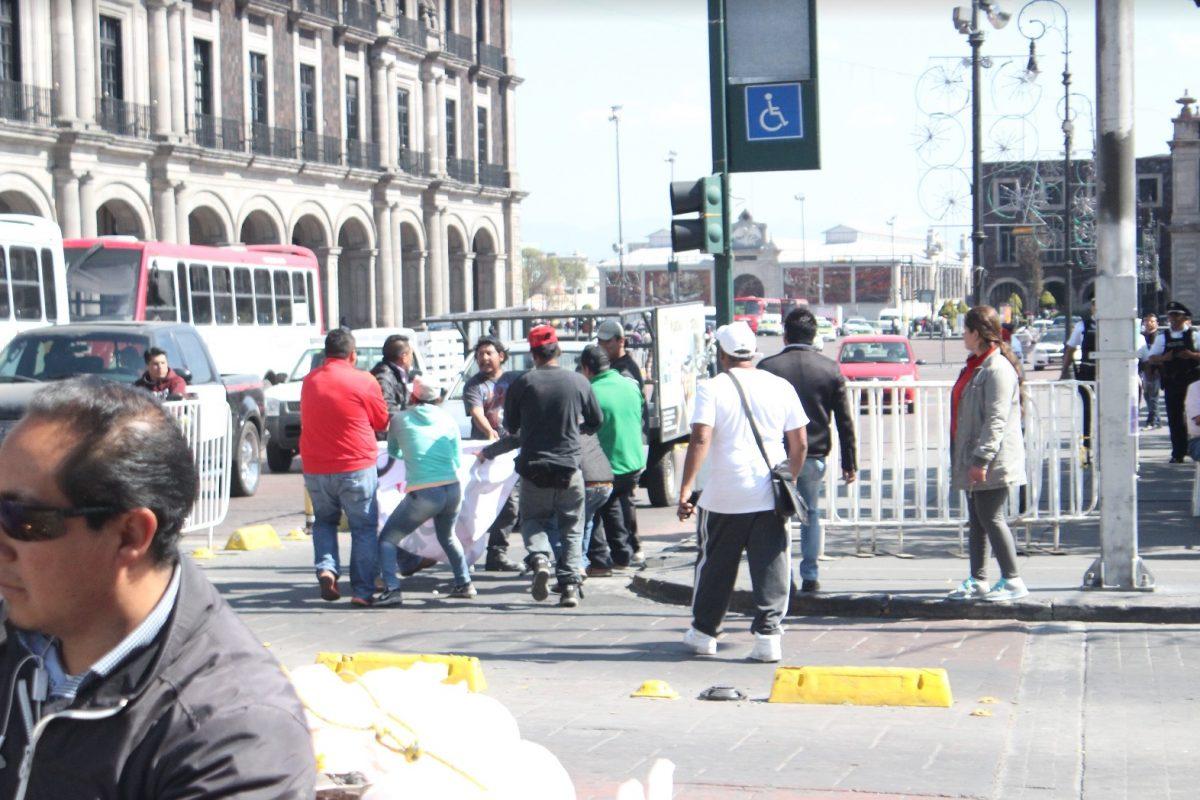 Los simpatizantes cazaron a los manifestantes