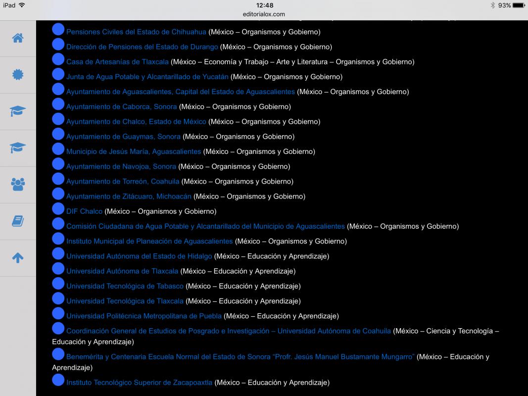 La lista de ayuntamientos ganadores