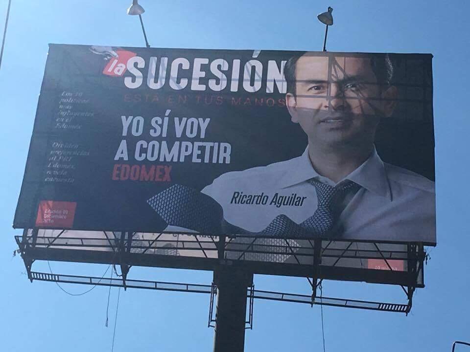 Se adelanta Ricardo Aguilar a la sucesión