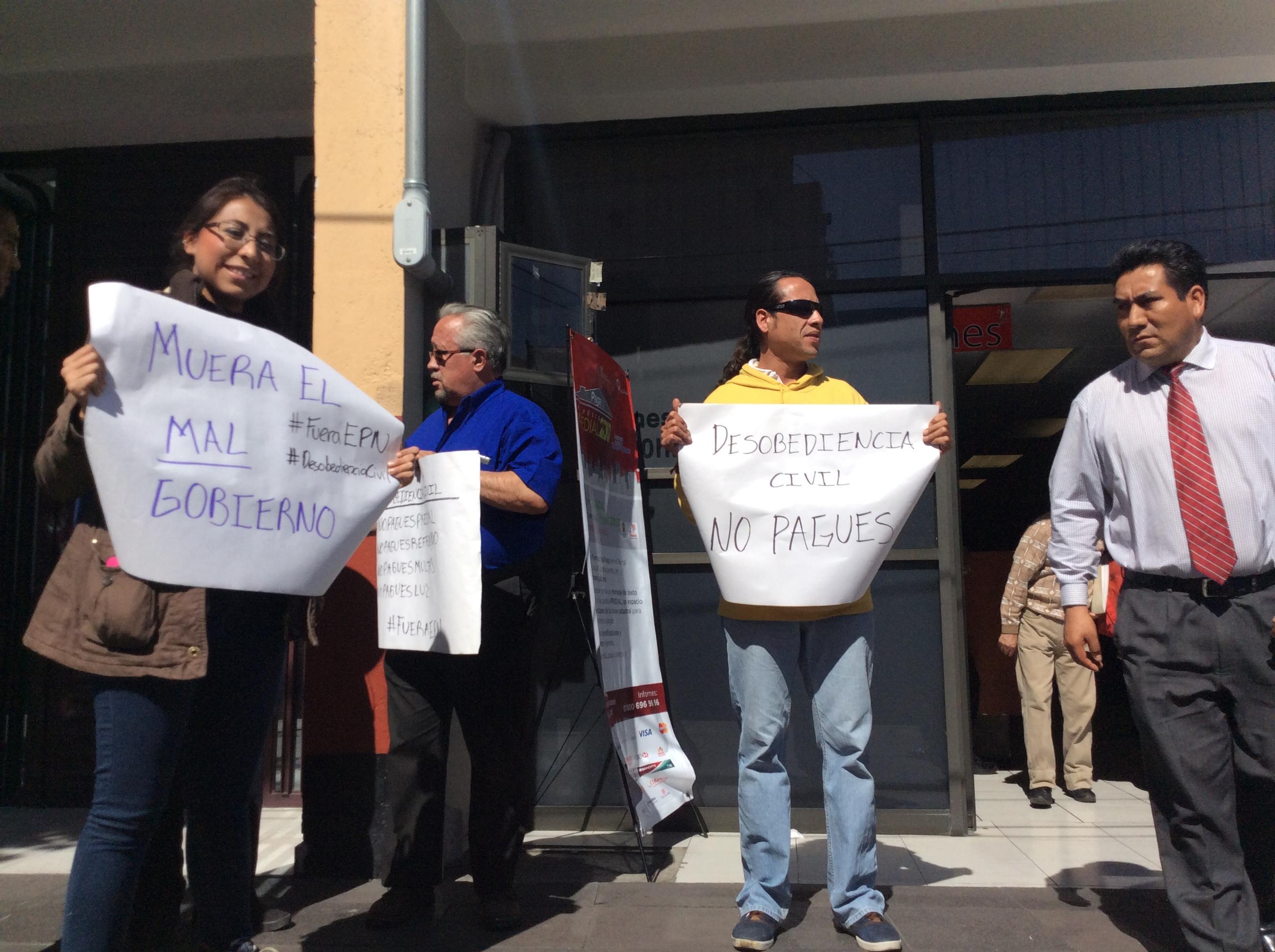 Boicot contra predial en Toluca por