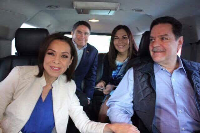 Oficializa Josefina su registro por gubernatura de Edoméx