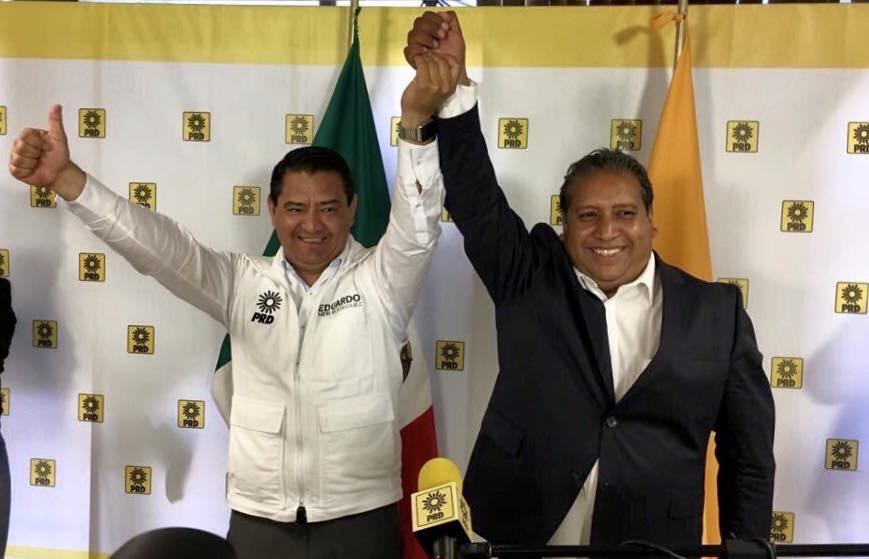 Se unen Neri y Salinas contra Zepeda en interna del PRD