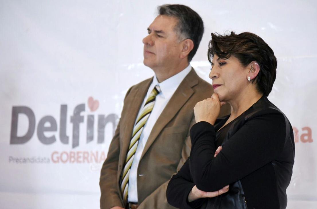 Recluta Delfina a ex tesorero de Legislatura del Edoméx
