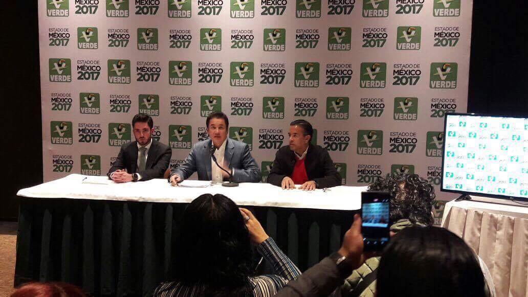 MORENA, AMLO y PRD violan ley electoral: PVEM