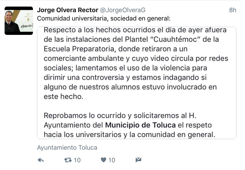 """""""Quitar ambulantes sí pero sin violencia"""""""