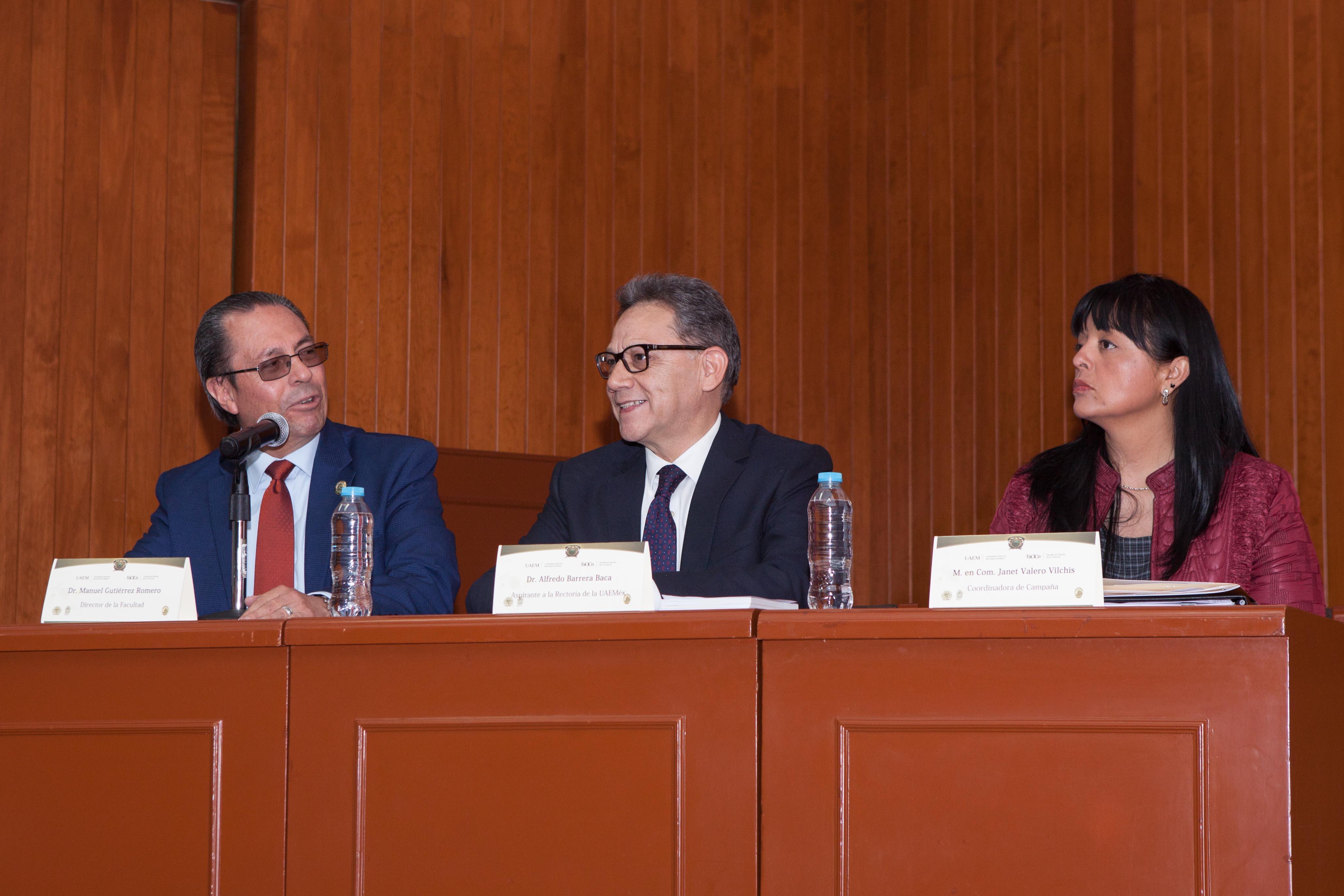 Propone Barrera más investigación con reconocimiento mundial