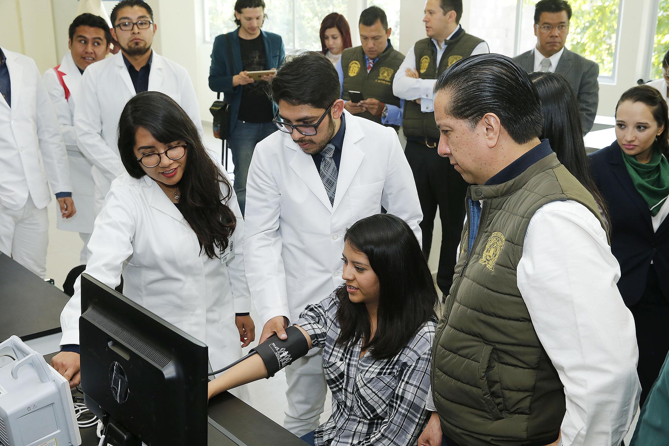 Estrena UAEM laboratorios de Bioingeniería Médica