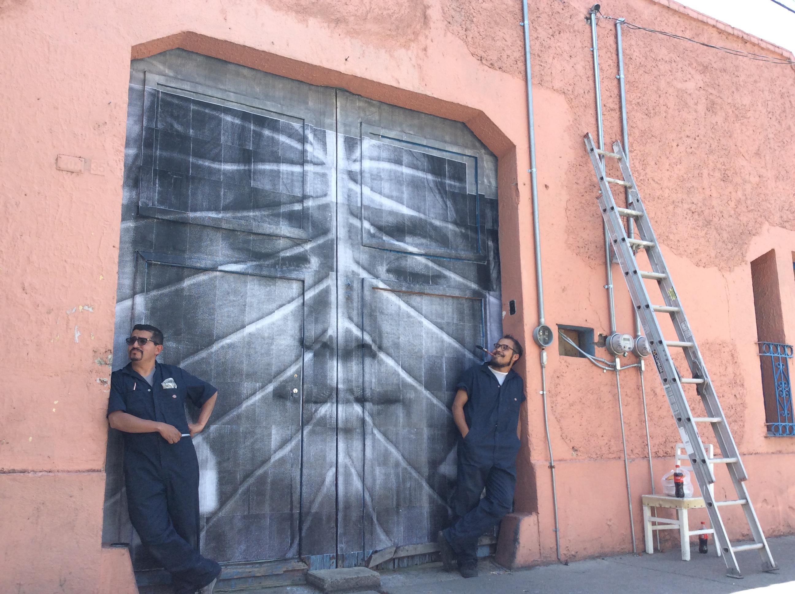 """""""Reviven"""" fachadas de Toluca con toques de arte"""