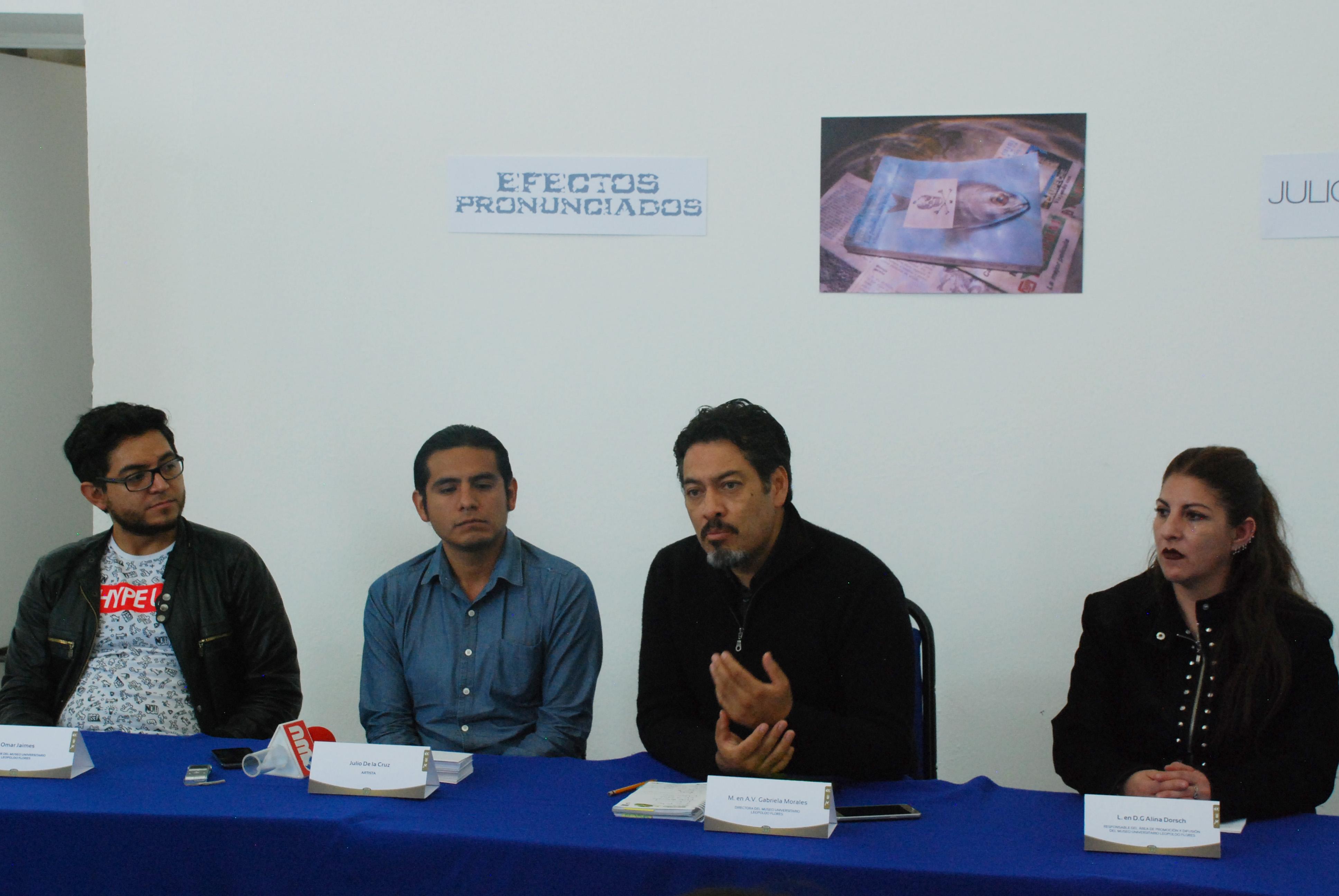 """Llega """"Efectos Pronunciados"""" museo Leopoldo Flores de UAEM"""