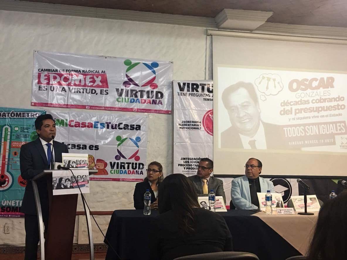 Acumula Virtud Ciudadana denuncias ante FEPADE