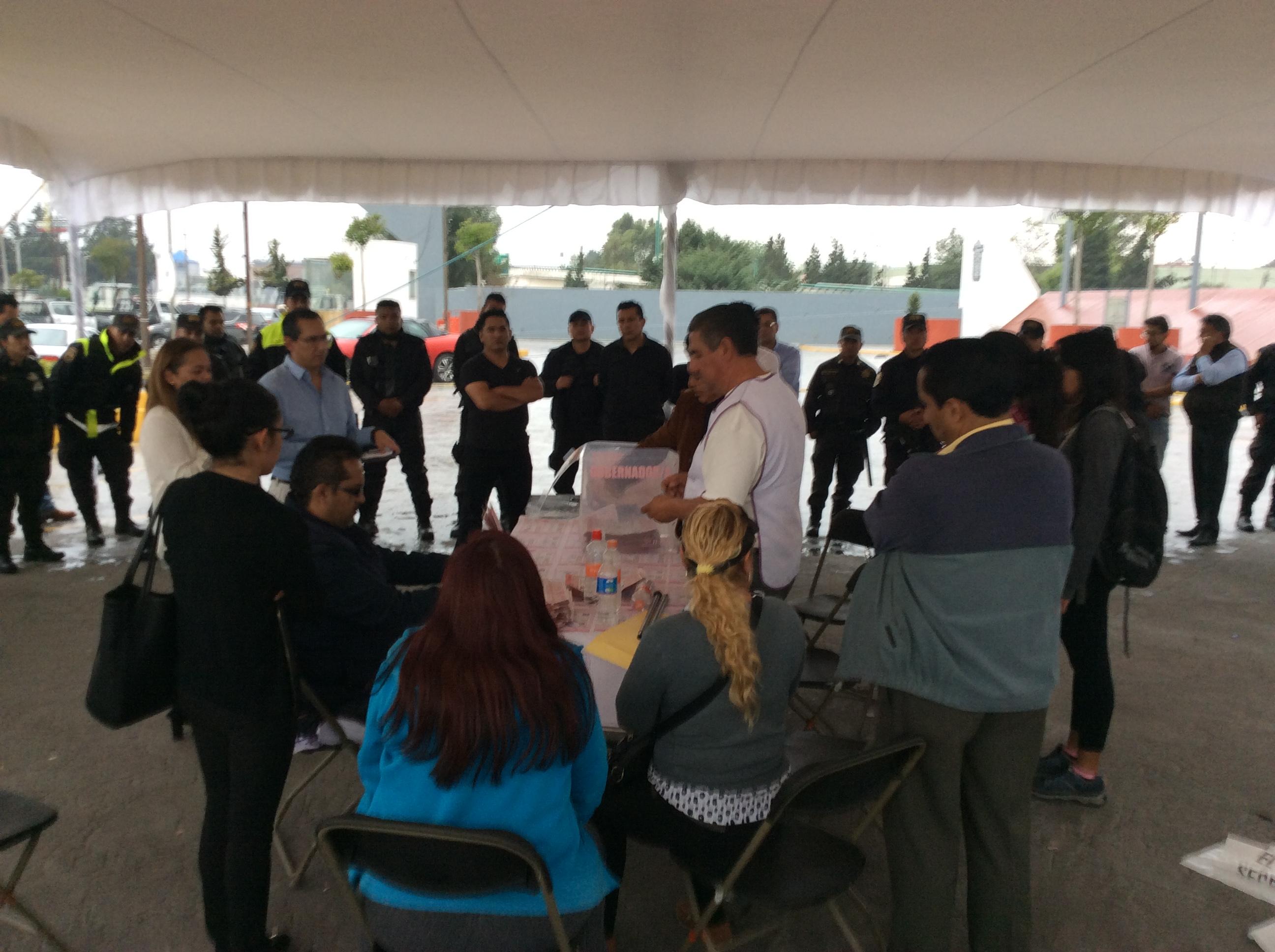 "Preven ""cascada"" de denuncias por casillas especiales de Toluca"