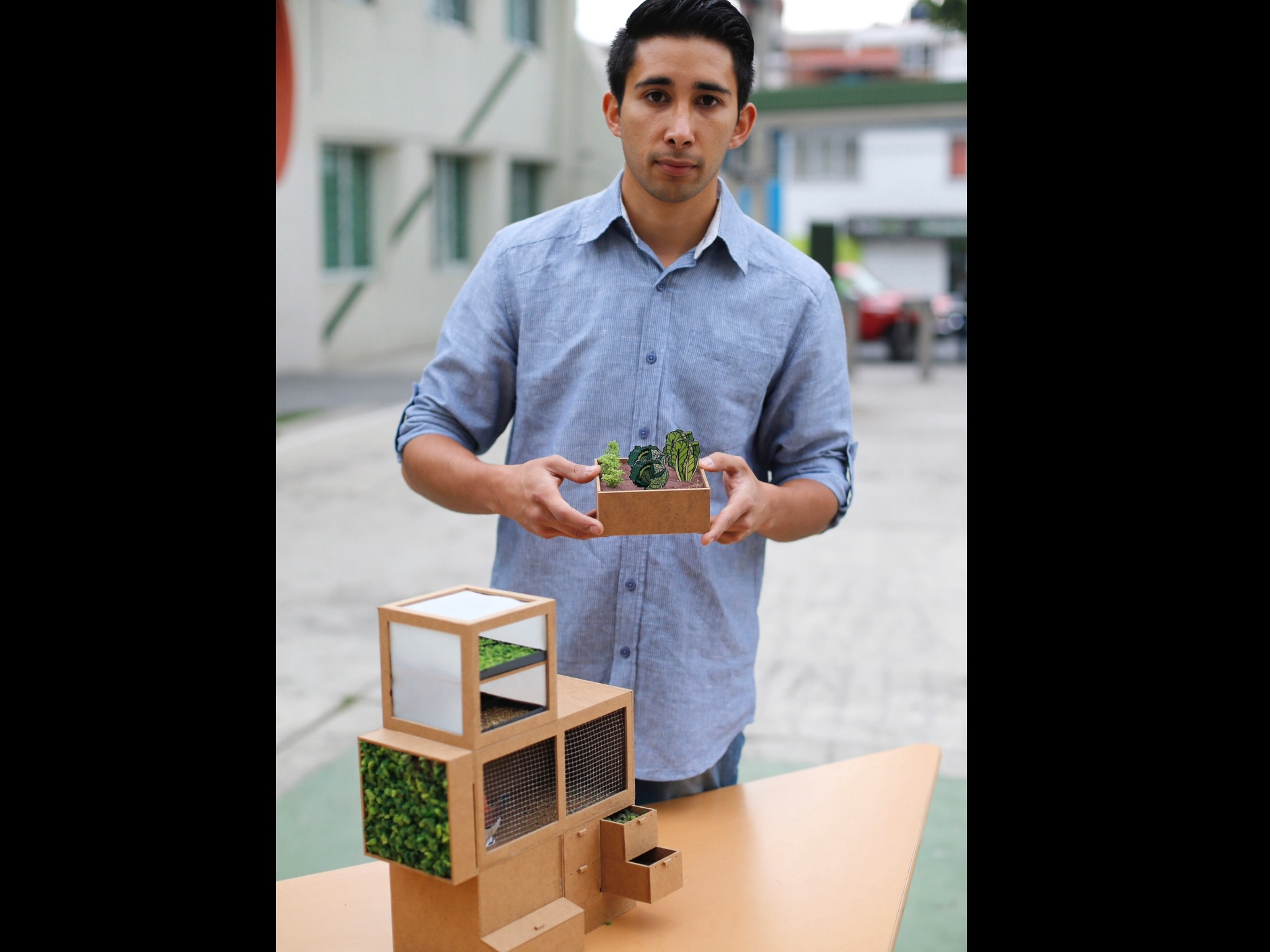Farm in Box, la innovación sustentable en UAEM