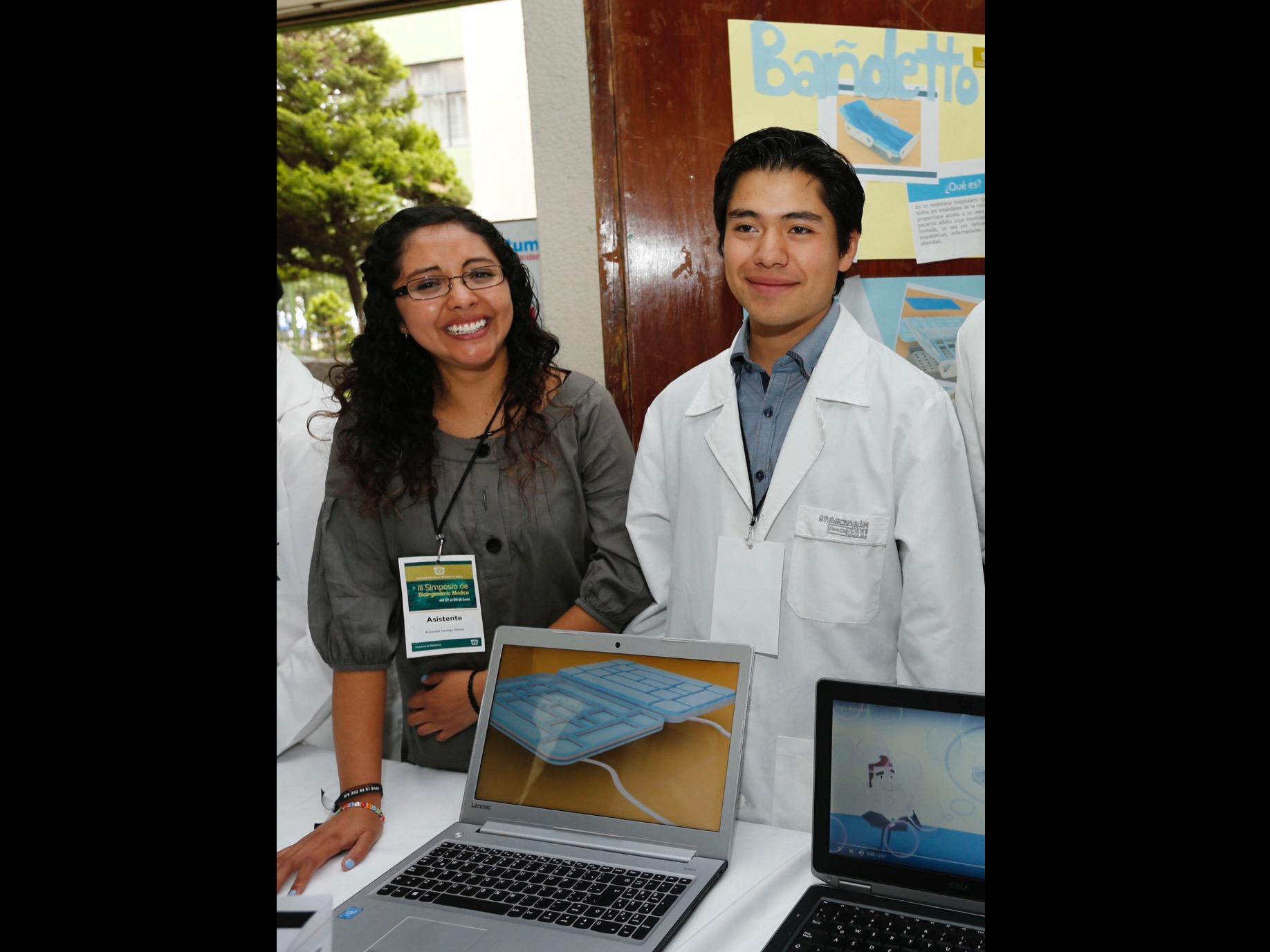 Bañoletto, proyecto clínico de alumnos de UAEM