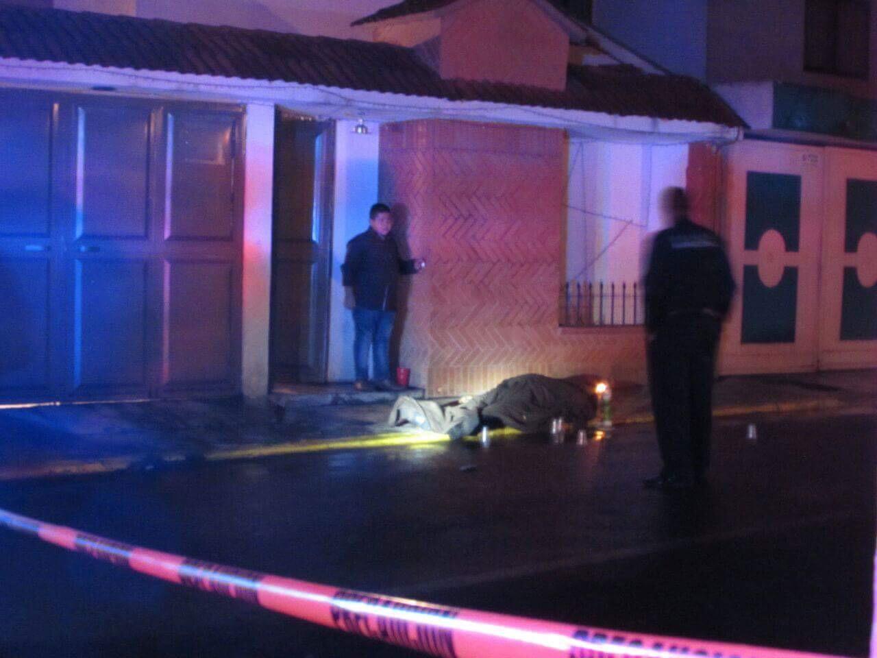 A tiros, ejecutan a hombre en Toluca