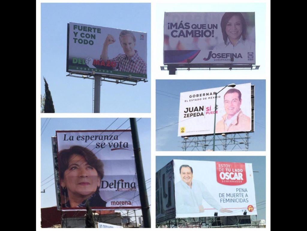 "Promete IEEM ""limpiar"" Edoméx de propaganda electoral"