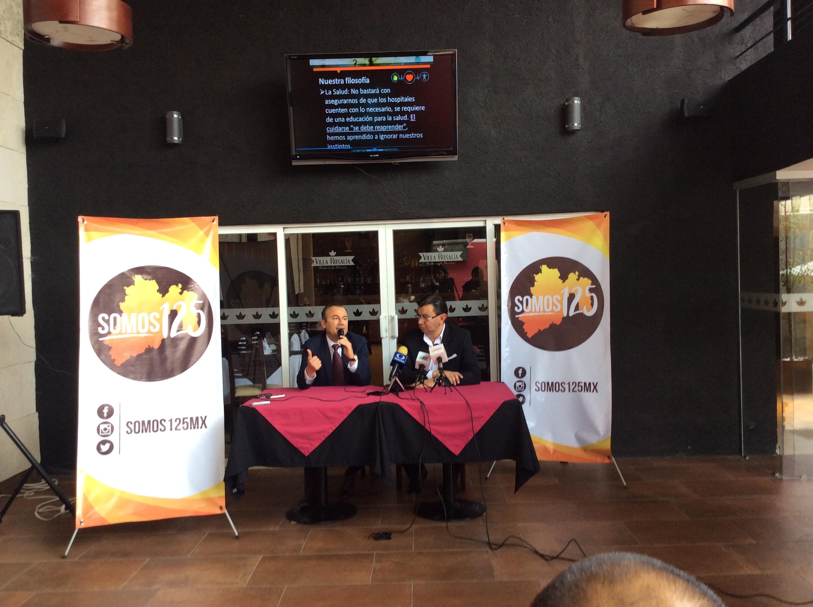 Rumbo a elecciones, crean movimiento #Somos125