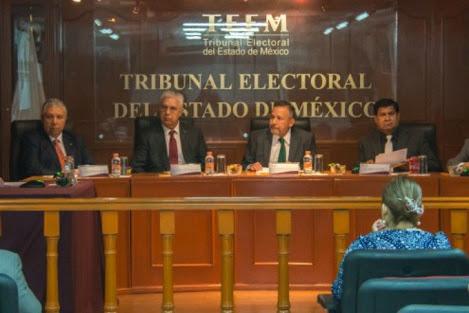 Que se vayan magistrados del TEEM, piden MORENA, PRD y PT