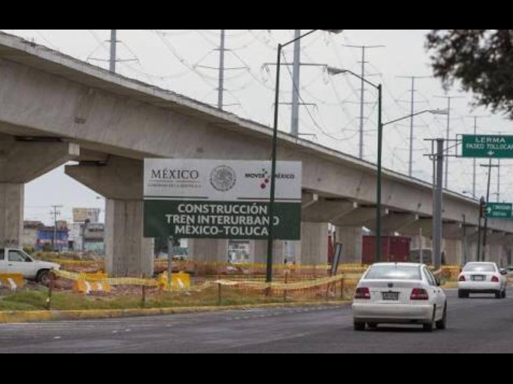 "Incluir ""Corredor verde"" en construcción de tren Toluca-México"