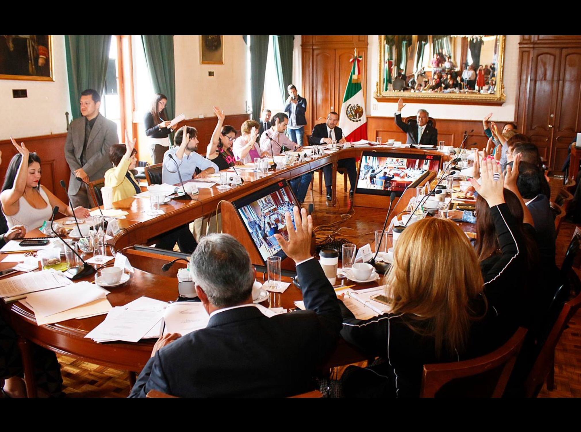 Anticorrupción en Toluca en manos del PRI, PAN y PT