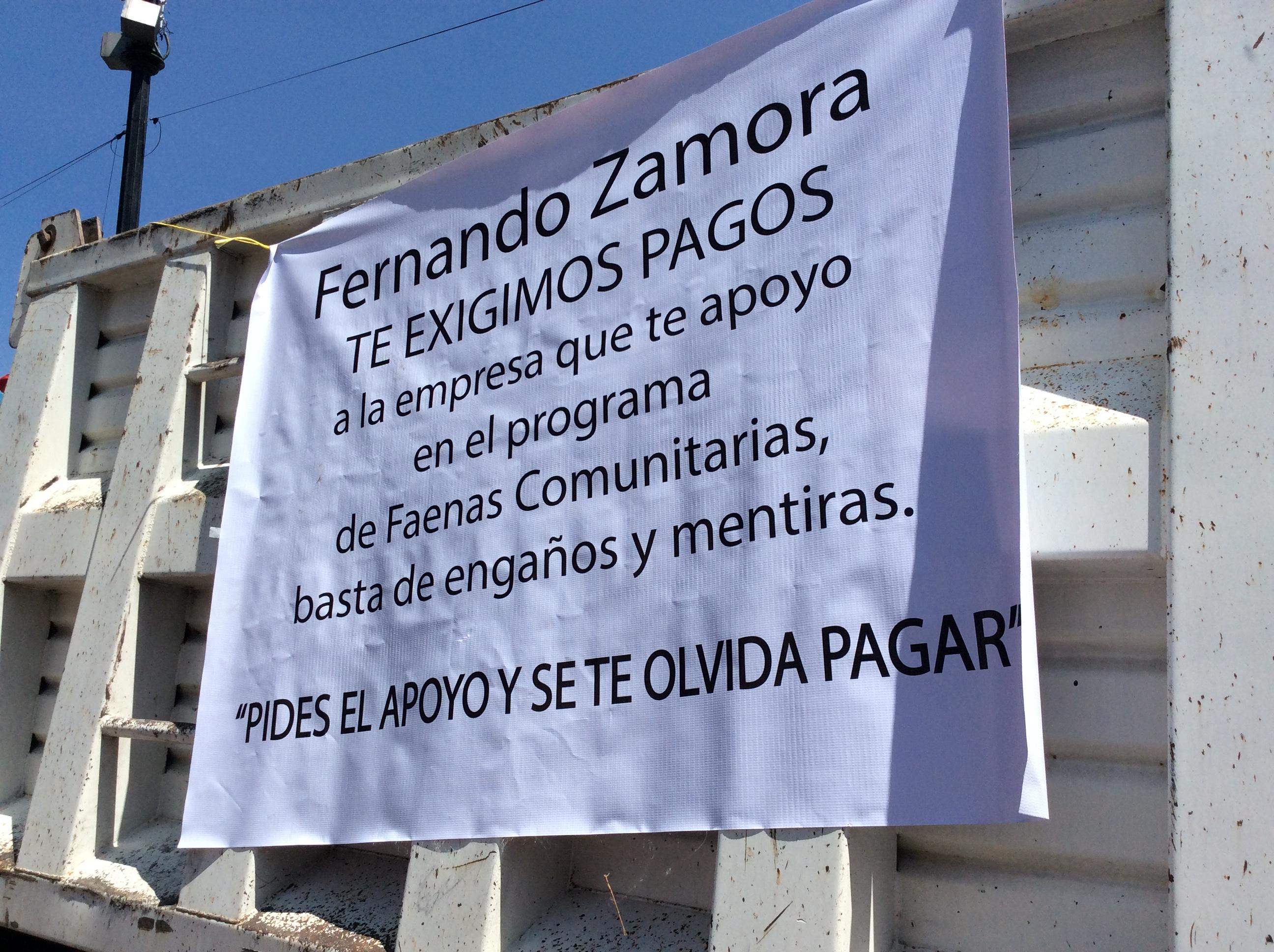 Alcalde de Toluca sigue estrenando obras y negándose a pagar por ellas