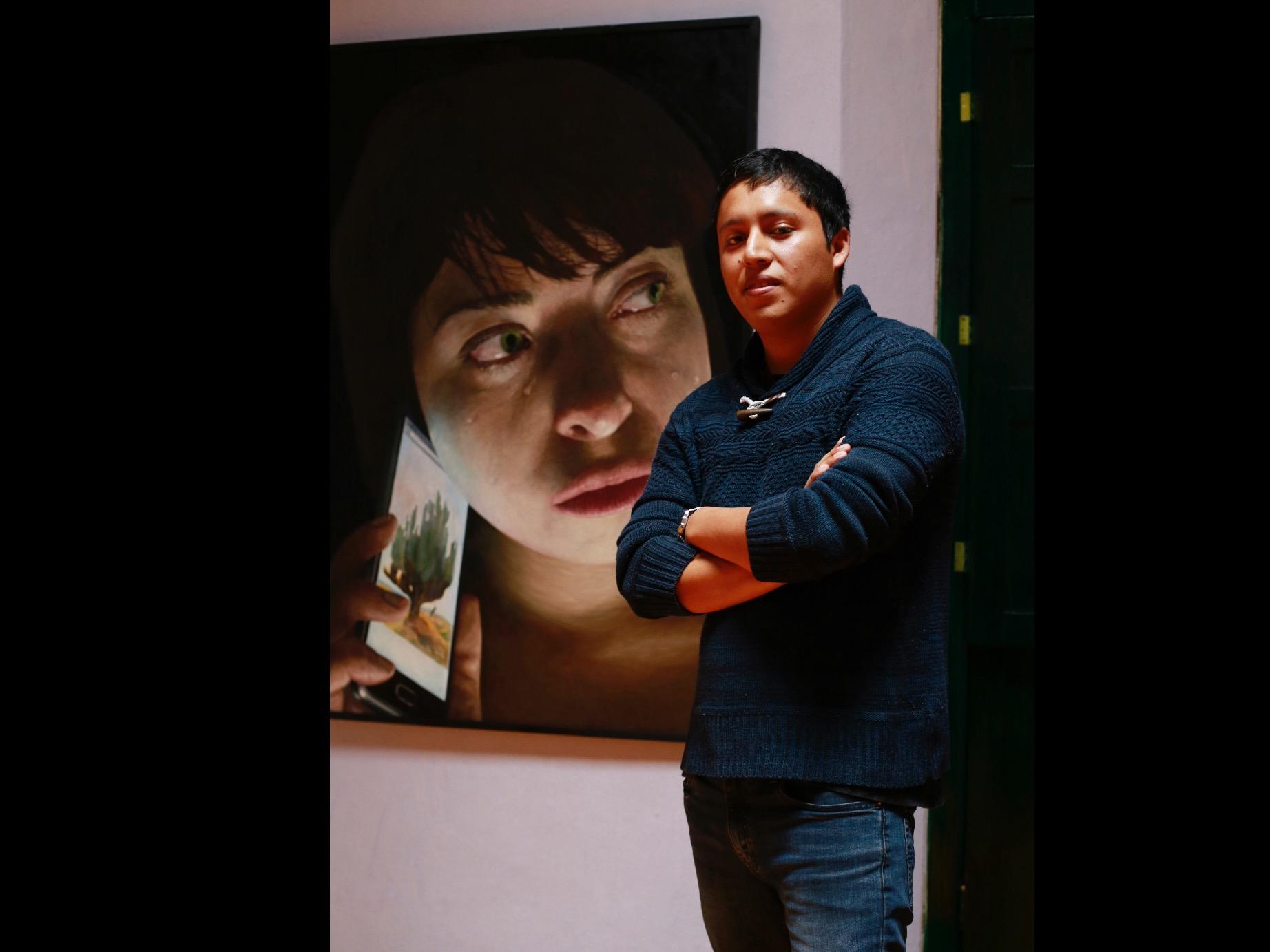 Universitario obtiene lugar en Bienal Nacional de Pintura Luis Nishizawa