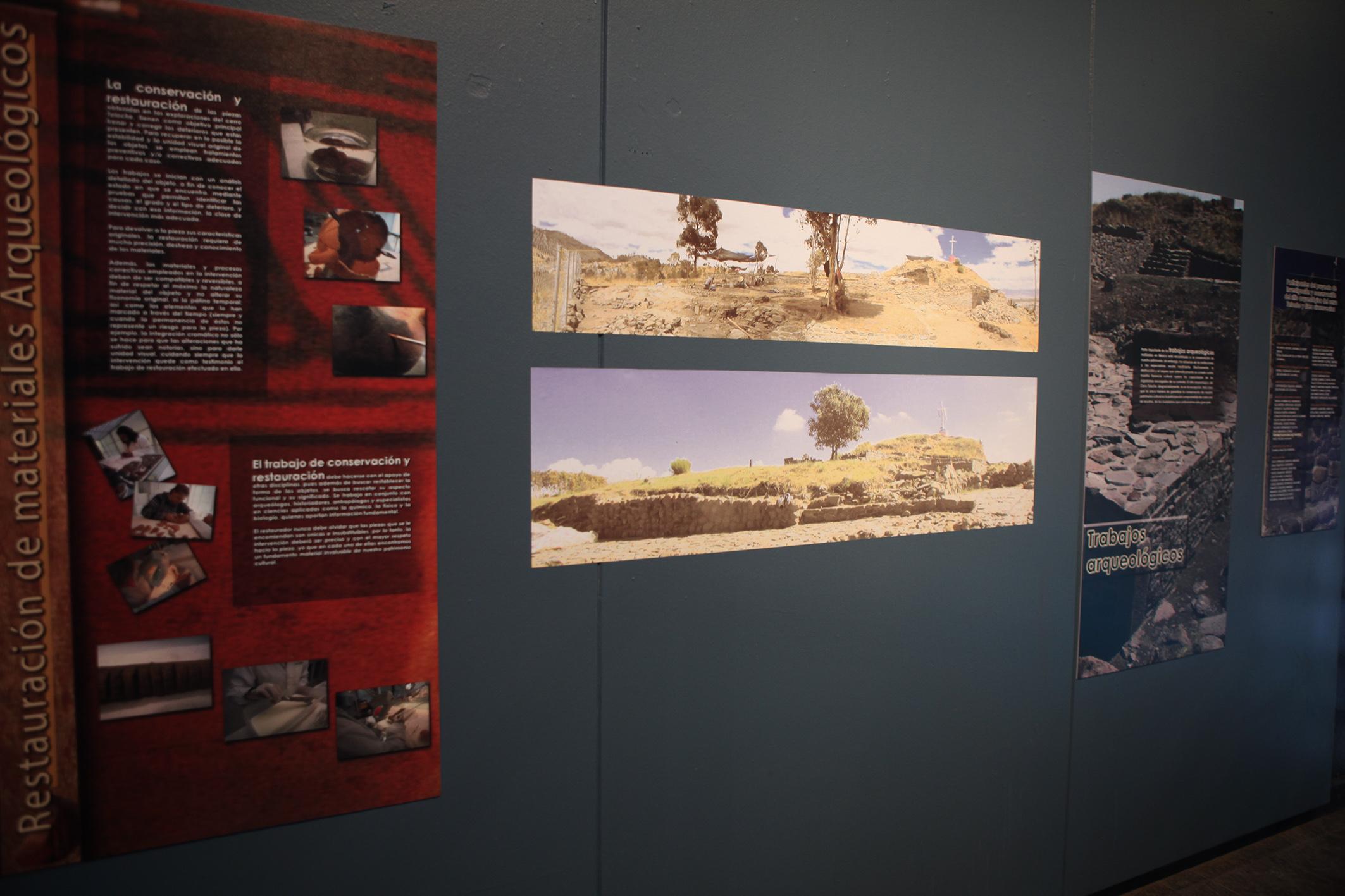 Exhibe UAEM vestigios arqueológicos del Cerro del Toloche
