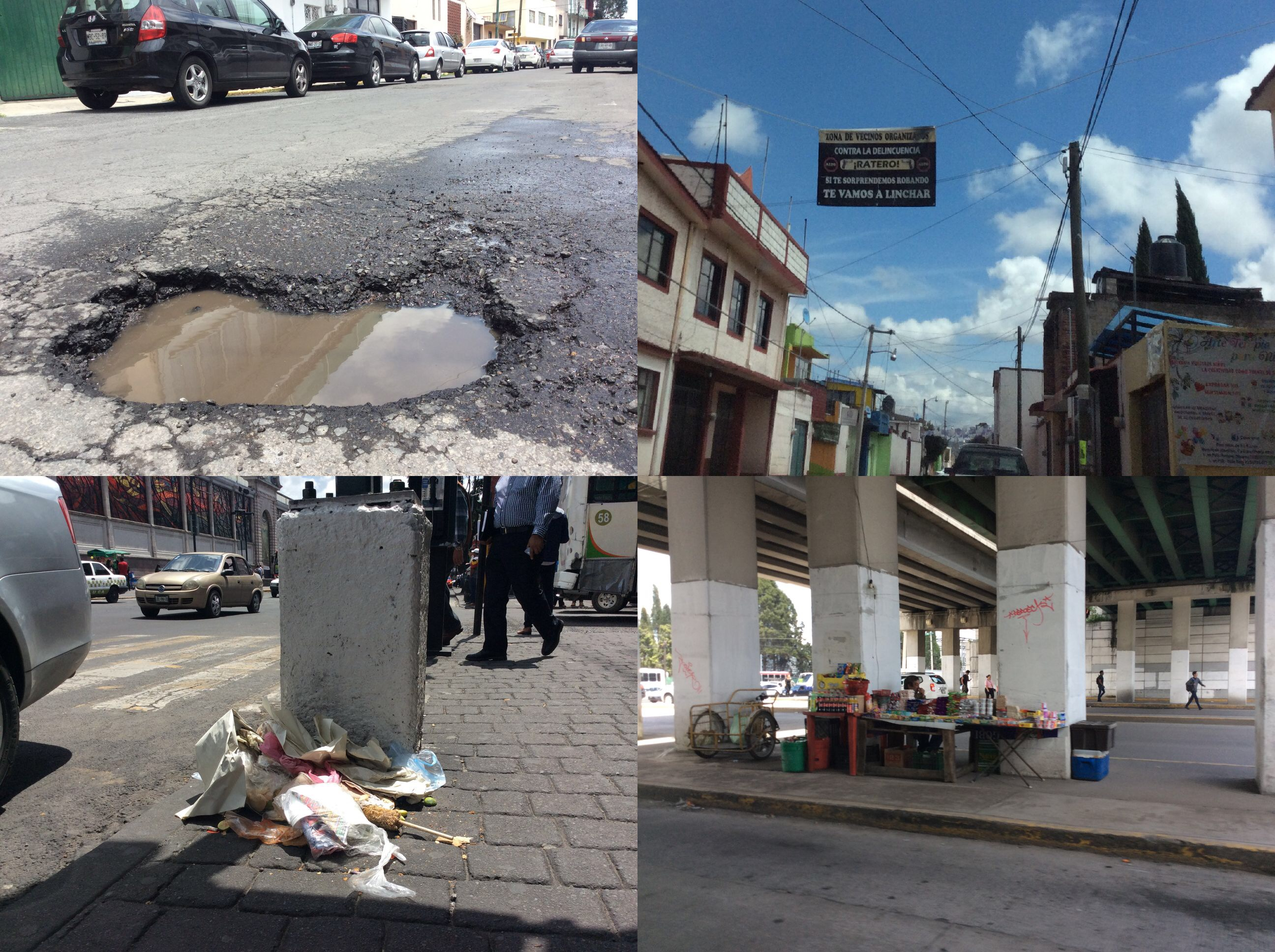 Deterioro en Toluca alcanza a todos… menos a la nómina municipal