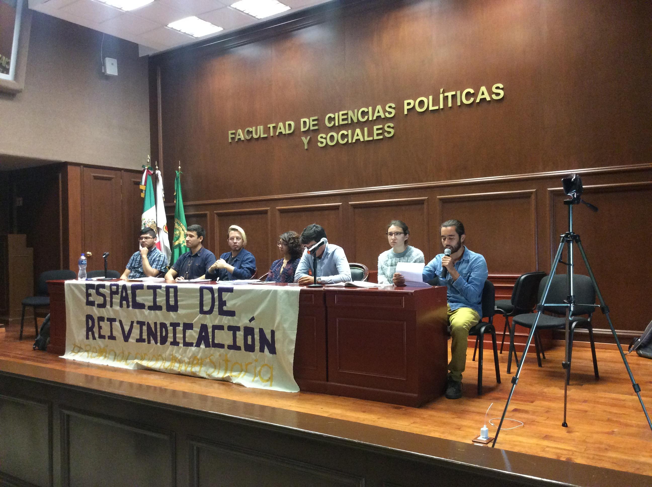 No más impunidad en UAEM, exigen alumnos
