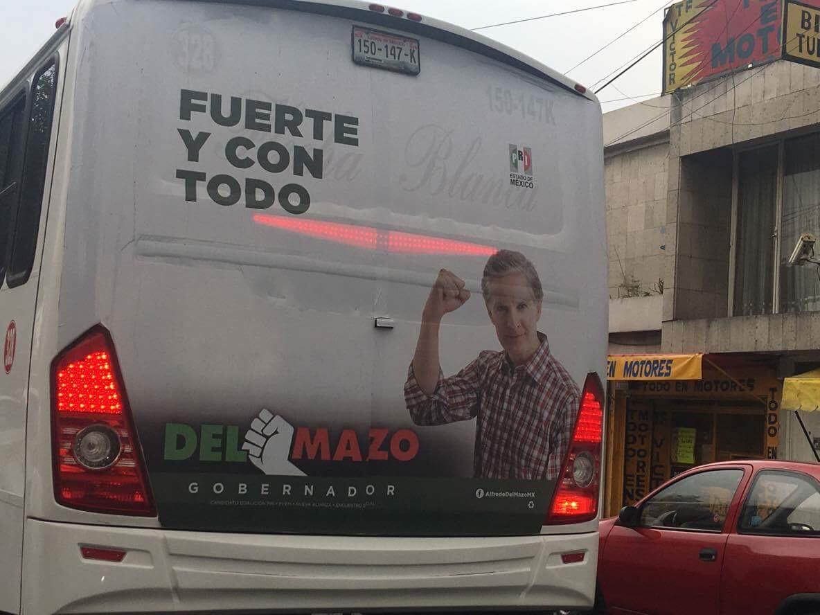 Alza al pasaje en transporte público divide a Cabildo de Toluca