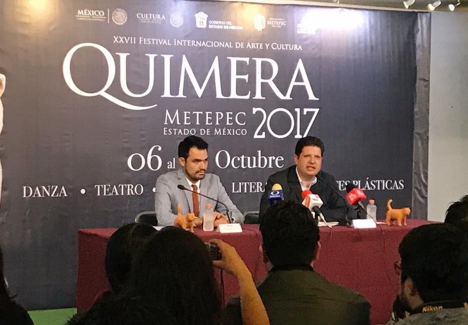 Ahora sí se inaugurará Teatro Quimera: alcalde de Metepec