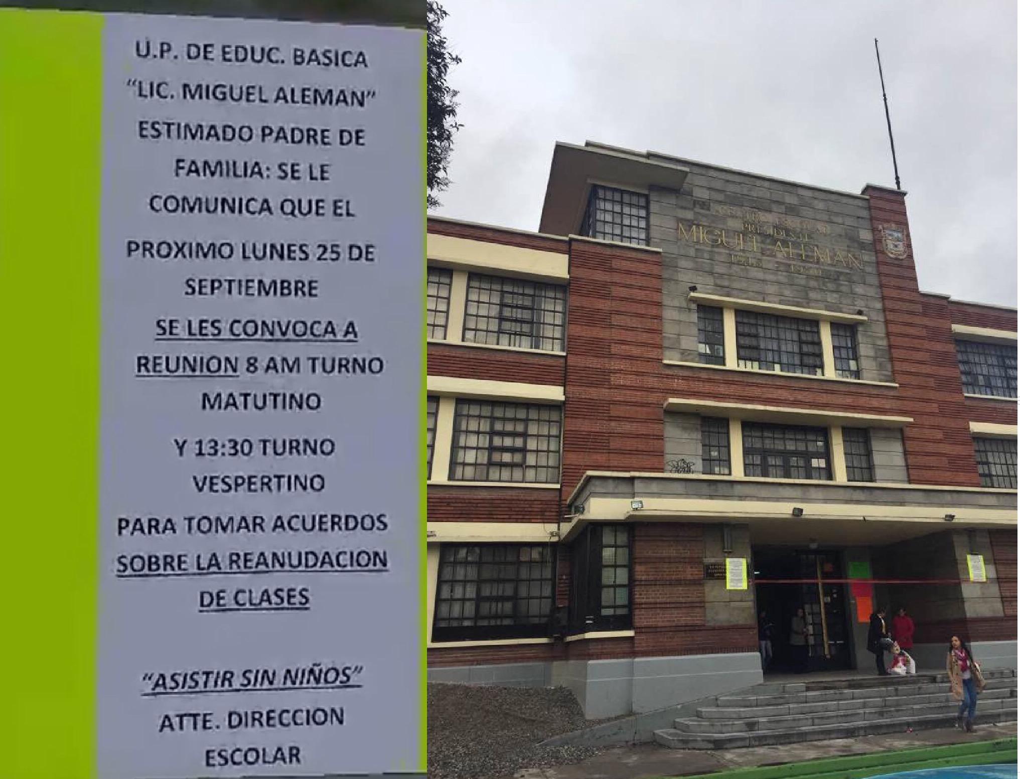 """Innecesaria reubicación de alumnos de primaria """"Miguel Alemán"""""""