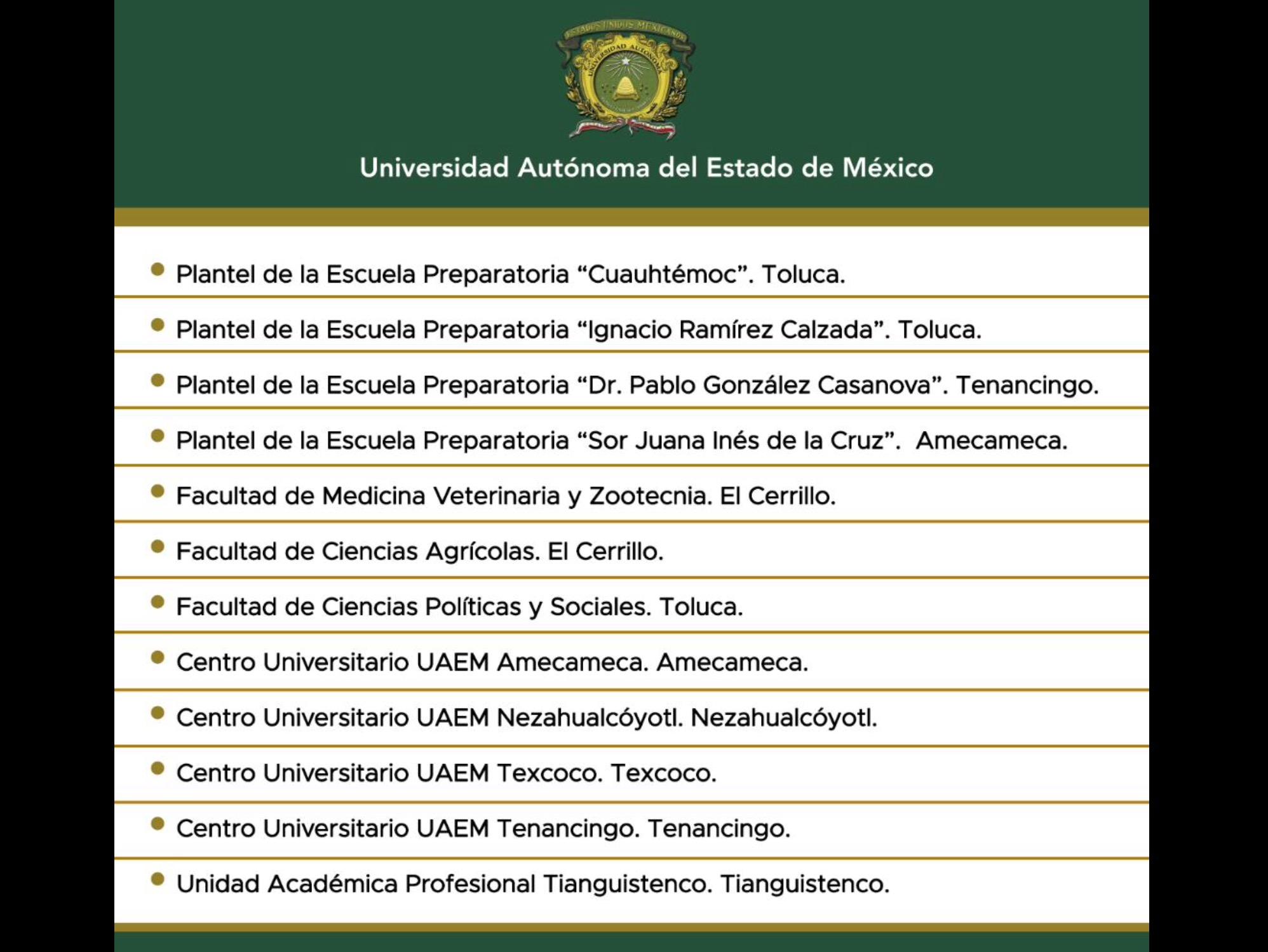 Con acceso restringido, UAEM reanuda actividades mañana | Transeúnte ...