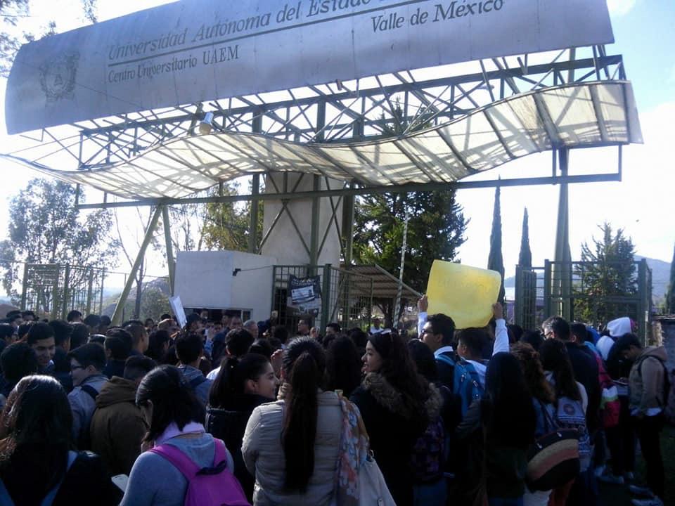 Acusaban imposición en UAEM Atizapán; ceden ante leyes universitarias