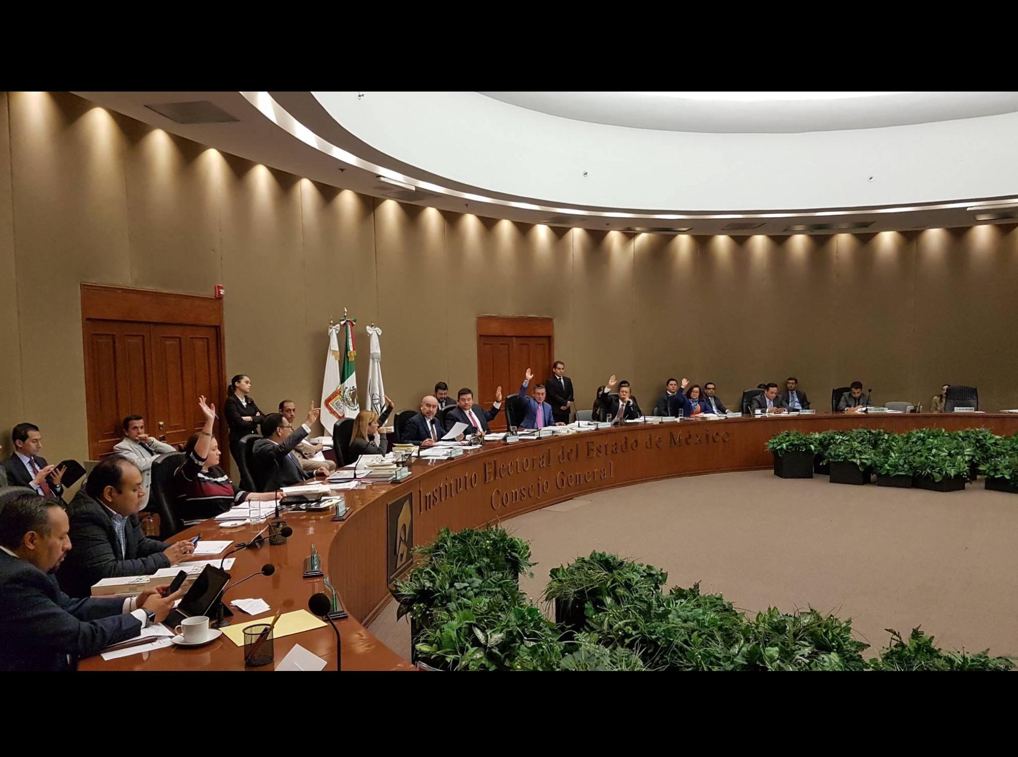 Sin modificaciones número de ediles para 2018, concluye IEEM