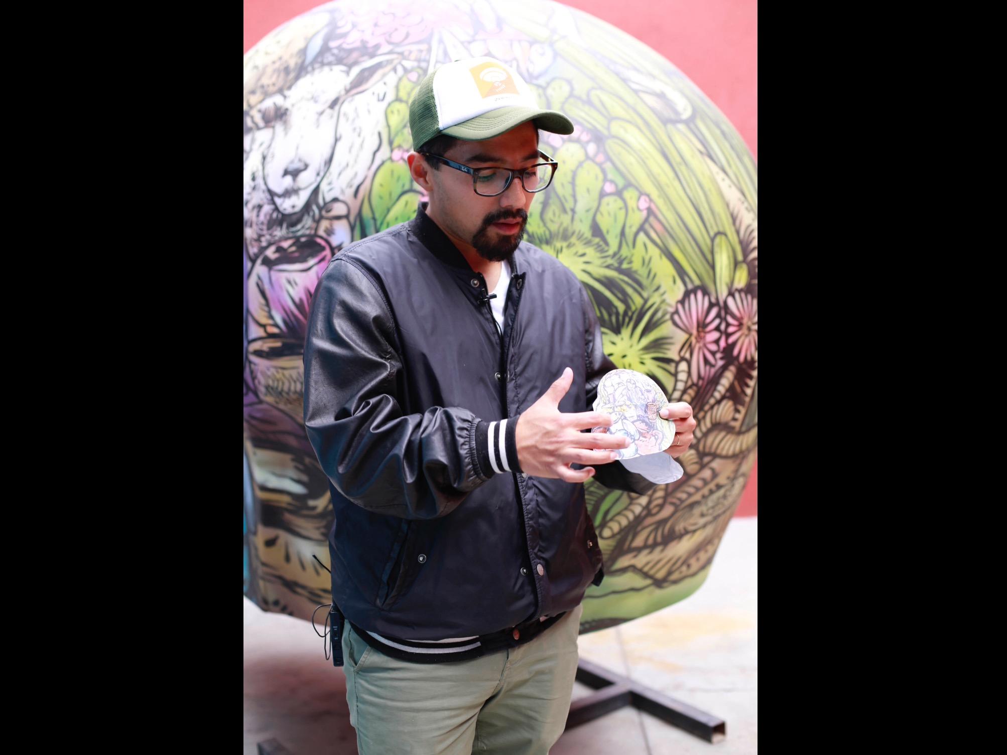 Lleva artista de UAEM su arte a CDMX