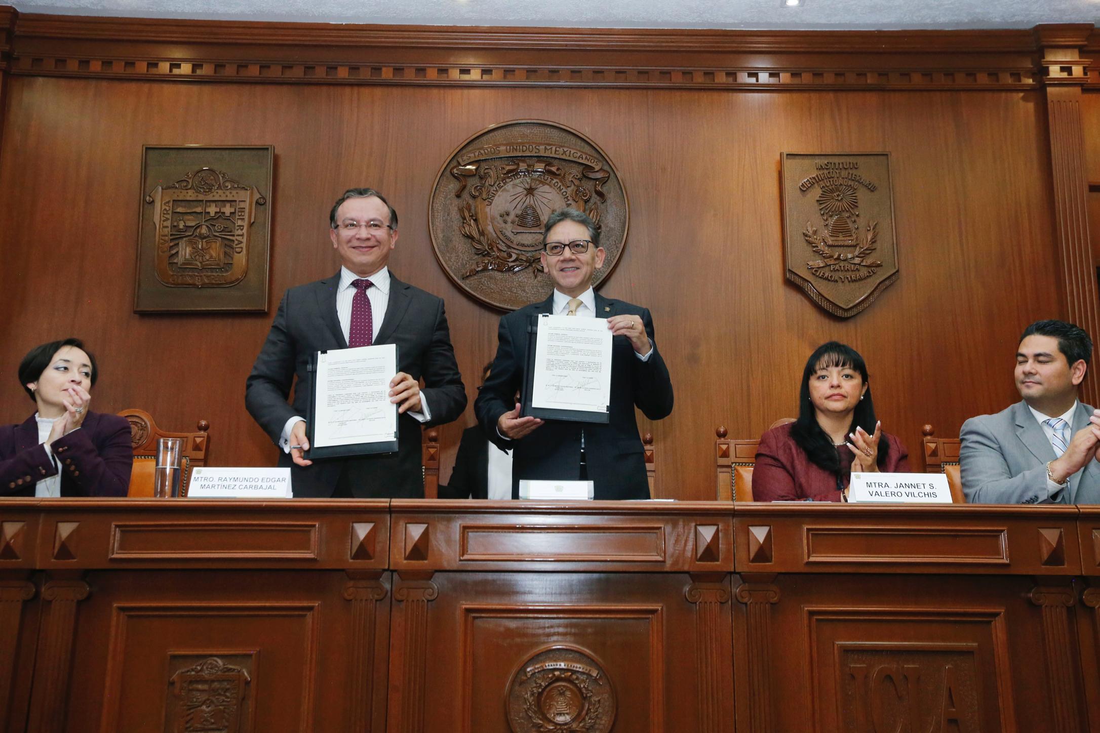 UAEM y Semov firman convenio para mejorar el transporte público