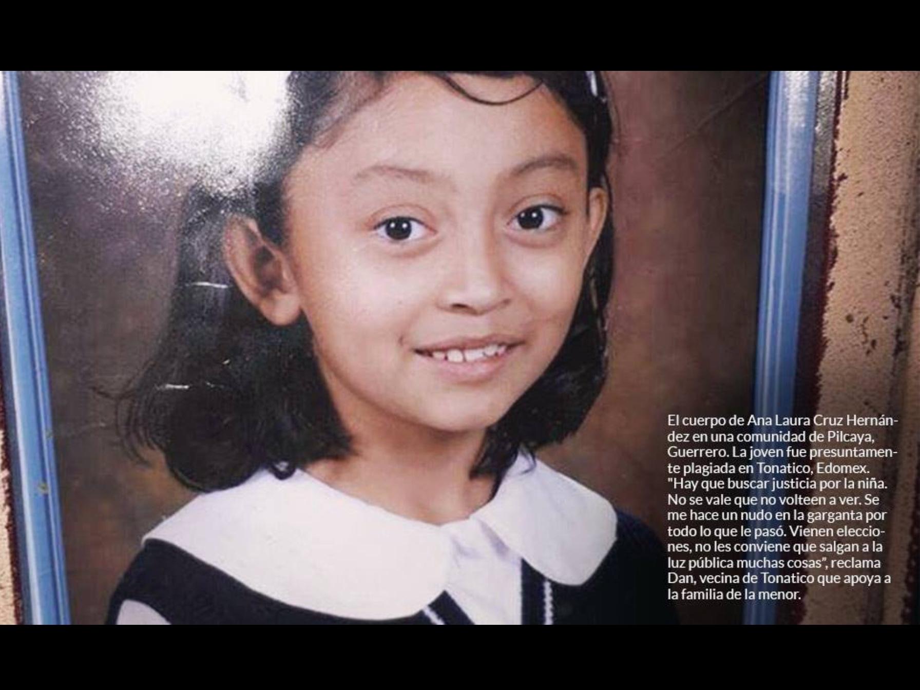 Ana, la niña asesinada y abandonada en los límites de Edoméx y Guerrero