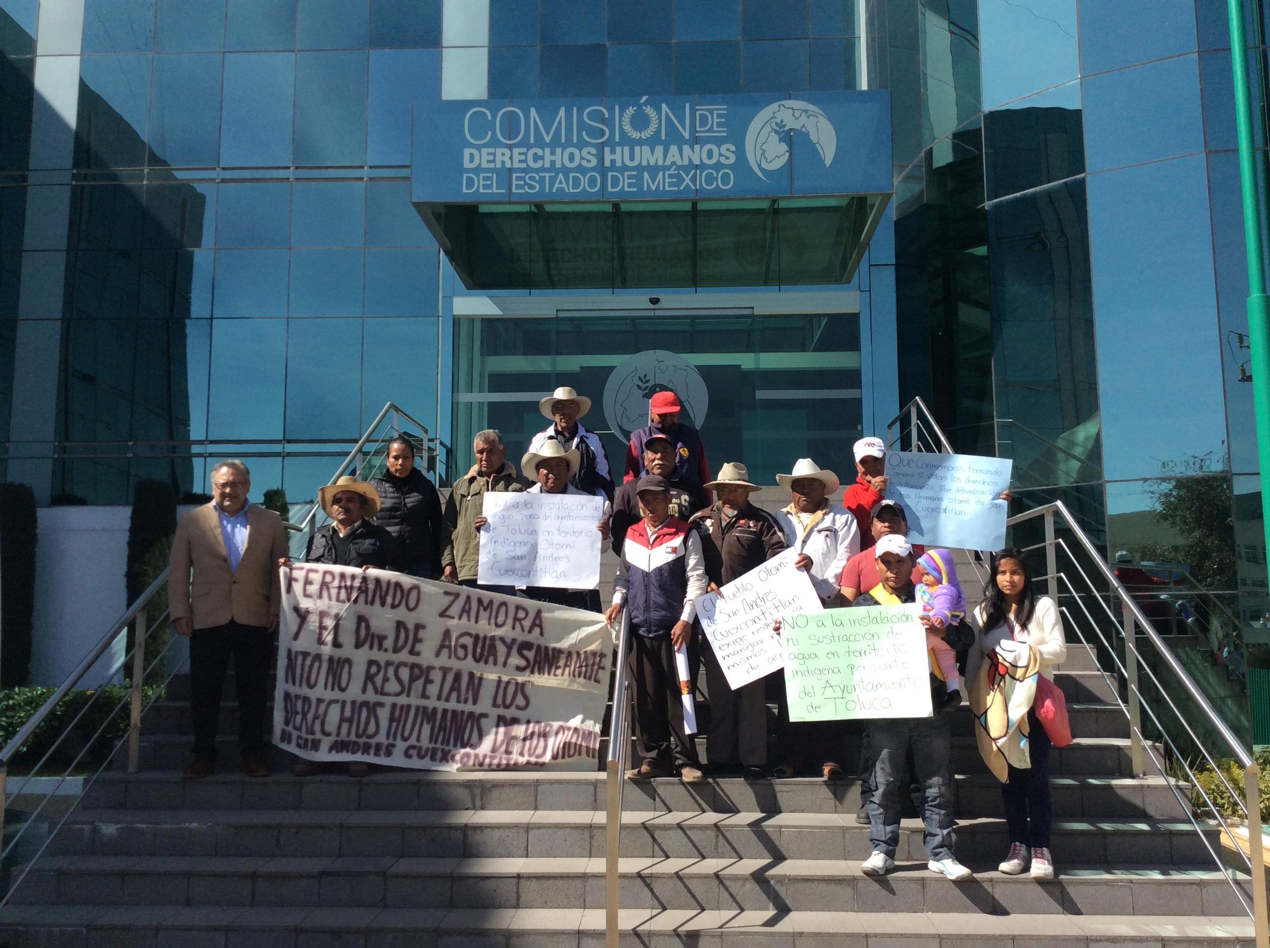 Alerta en zona indígena de Toluca ante privatización de pozos de agua