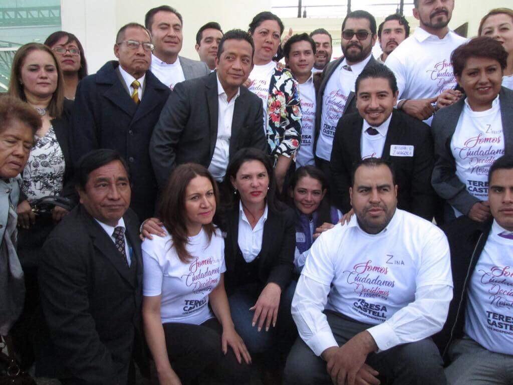 Egresados de la escuela de Teresa Castell se registran ante IEEM