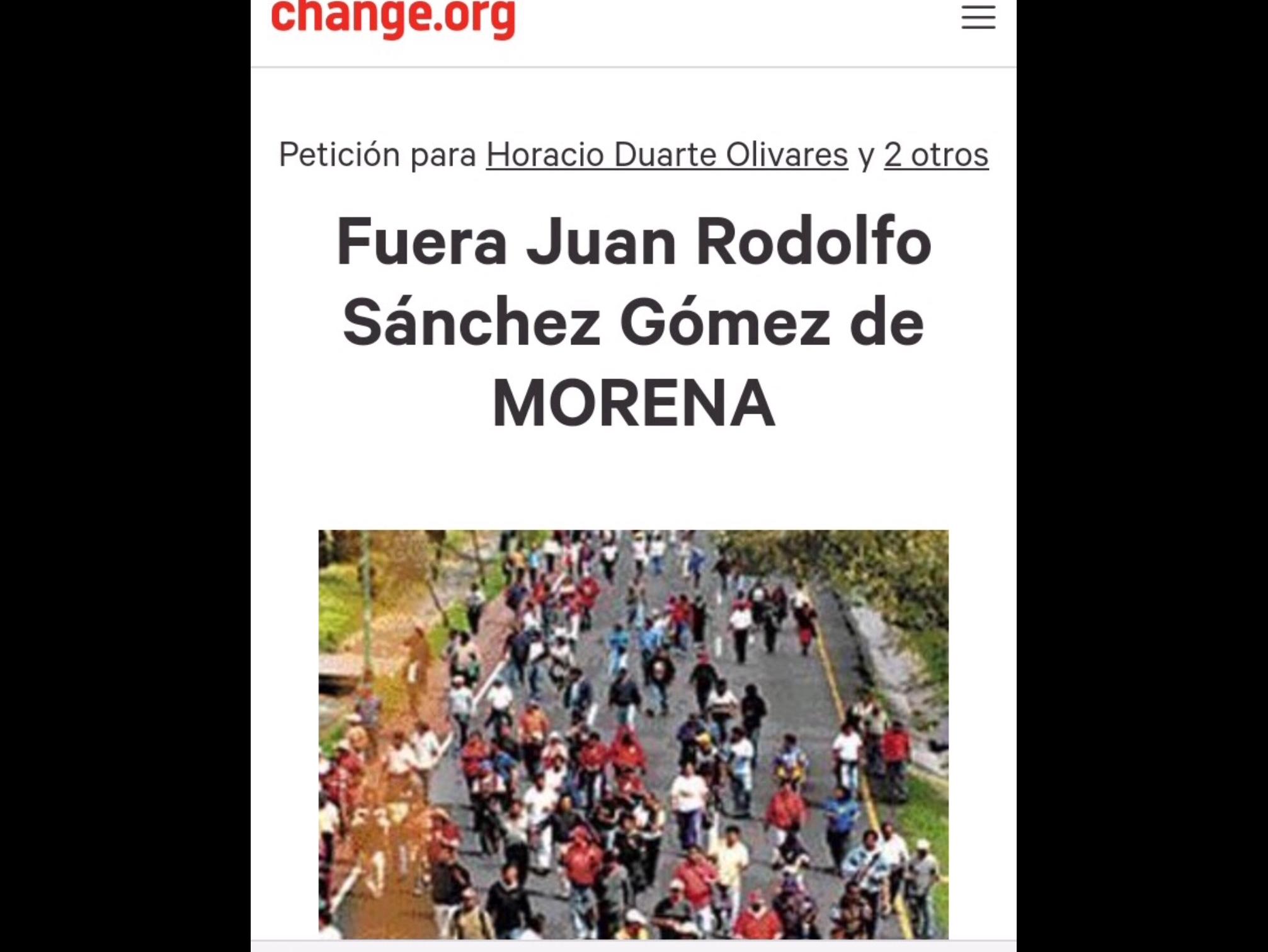 Arrecia descontento en MORENA posible candidatura de JuanRo