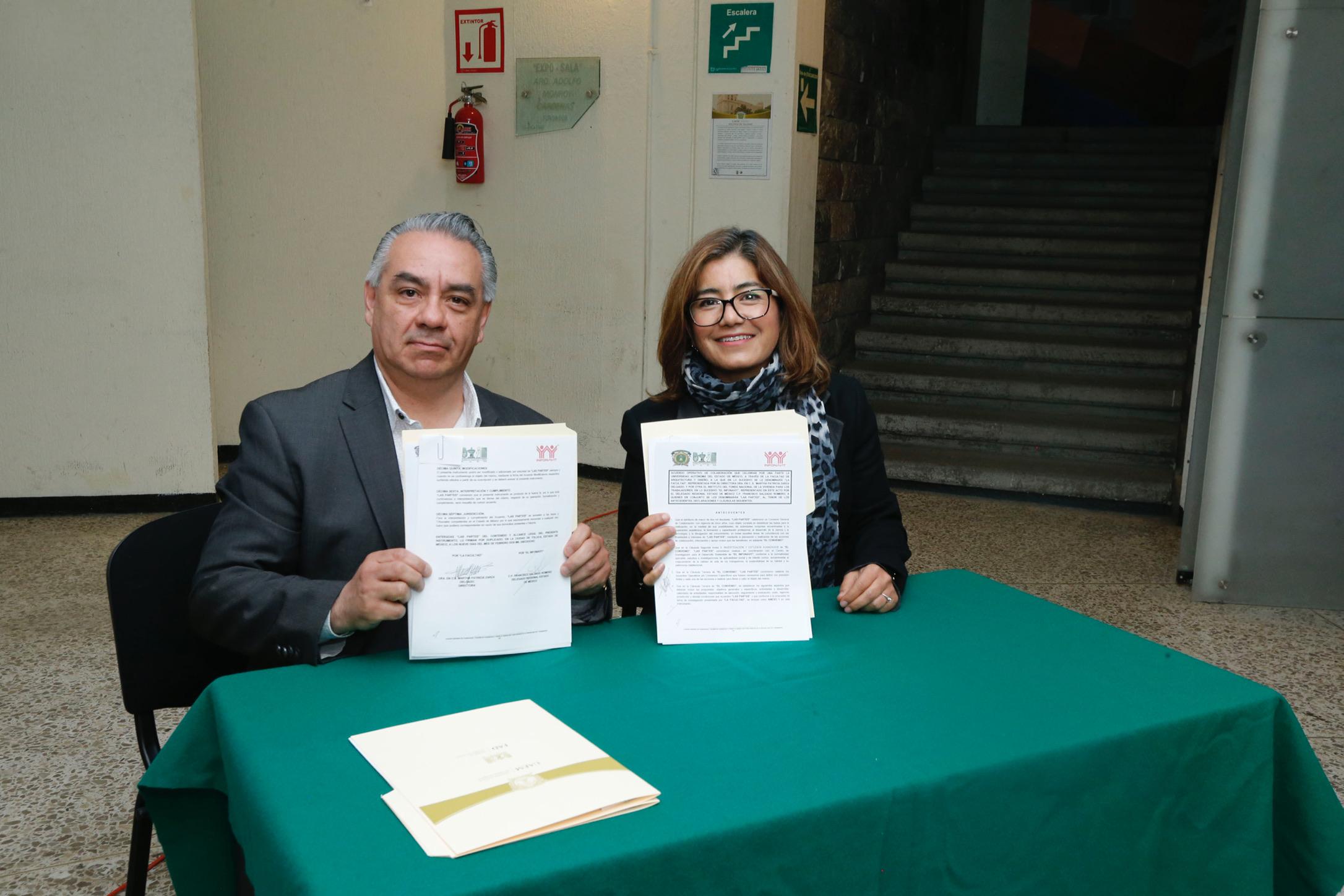 Firman UAEM e INFONAVIT acuerdo operativo