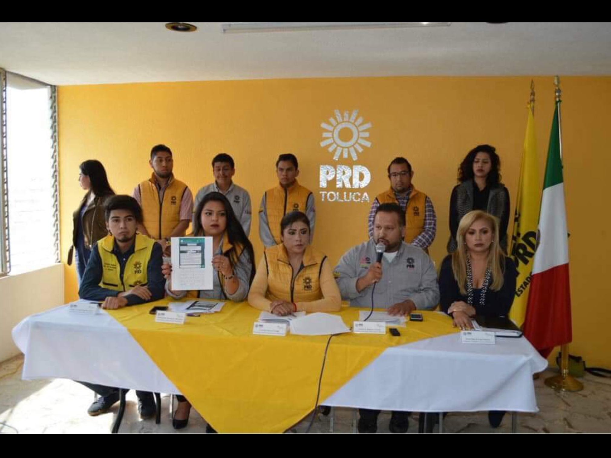 """Ponen en jaque a """"joya"""" del PRD-Toluca"""