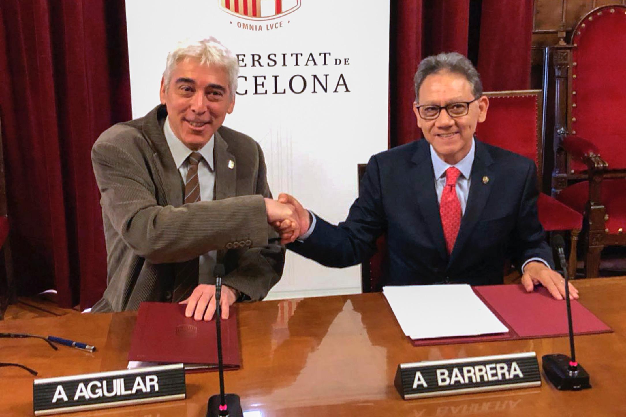 Anuncian alianza entre UAEM y Universidad de Barcelona