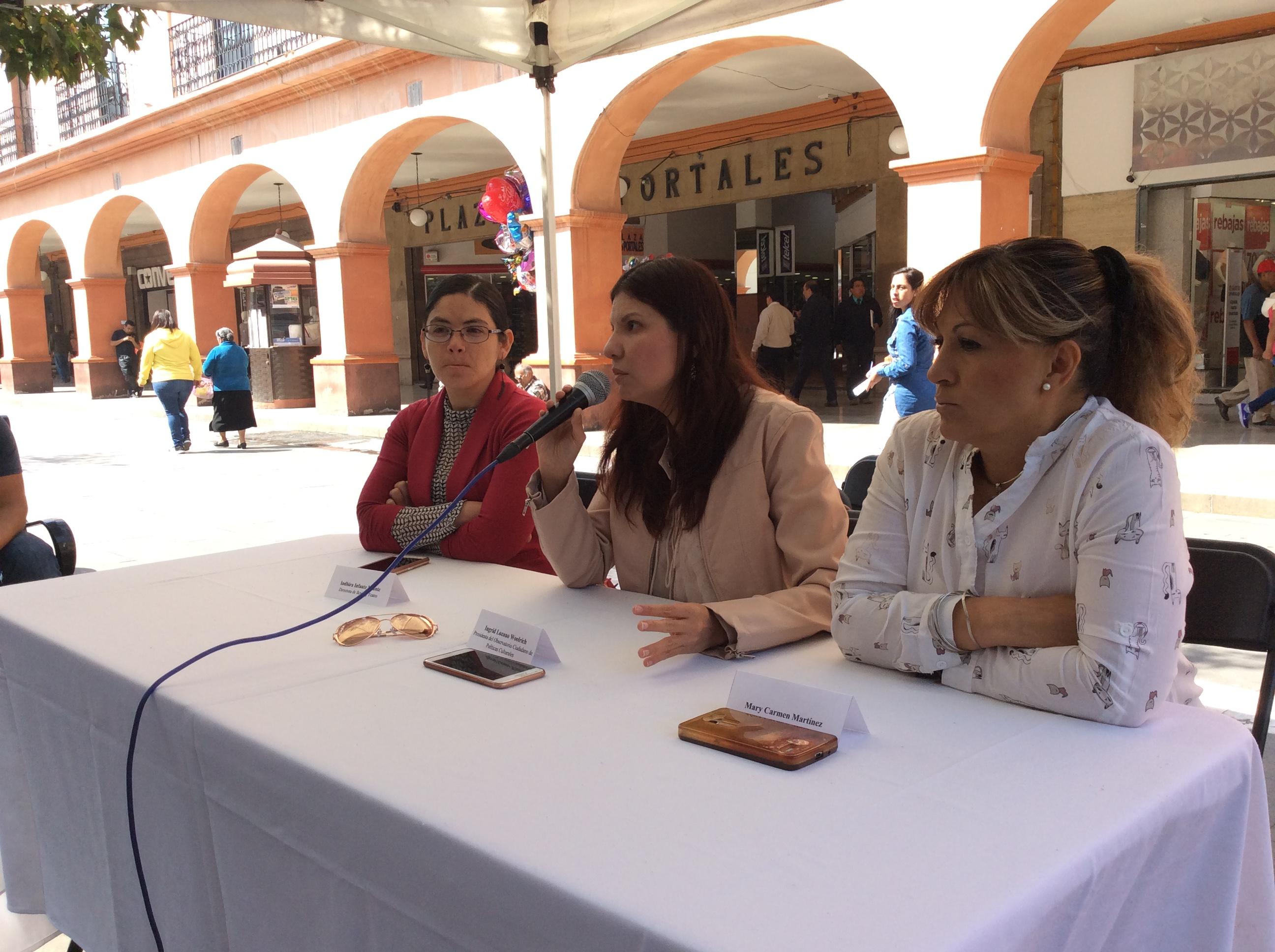 """""""Malos manejos del presupuesto cultural en Toluca"""""""
