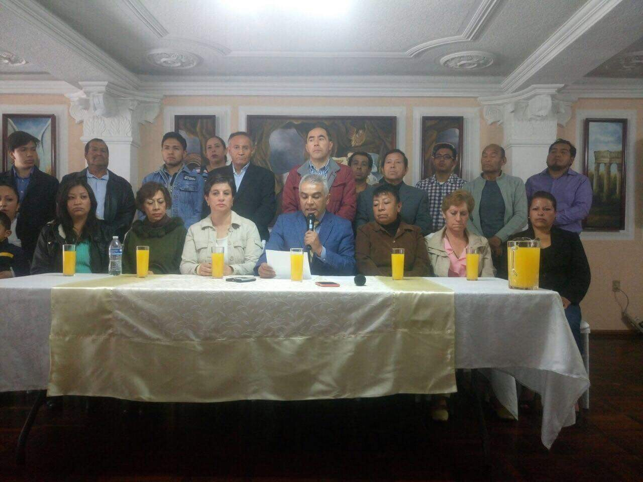 """Voraz """"Frente"""" en Toluca: niegan espacios a militancia"""