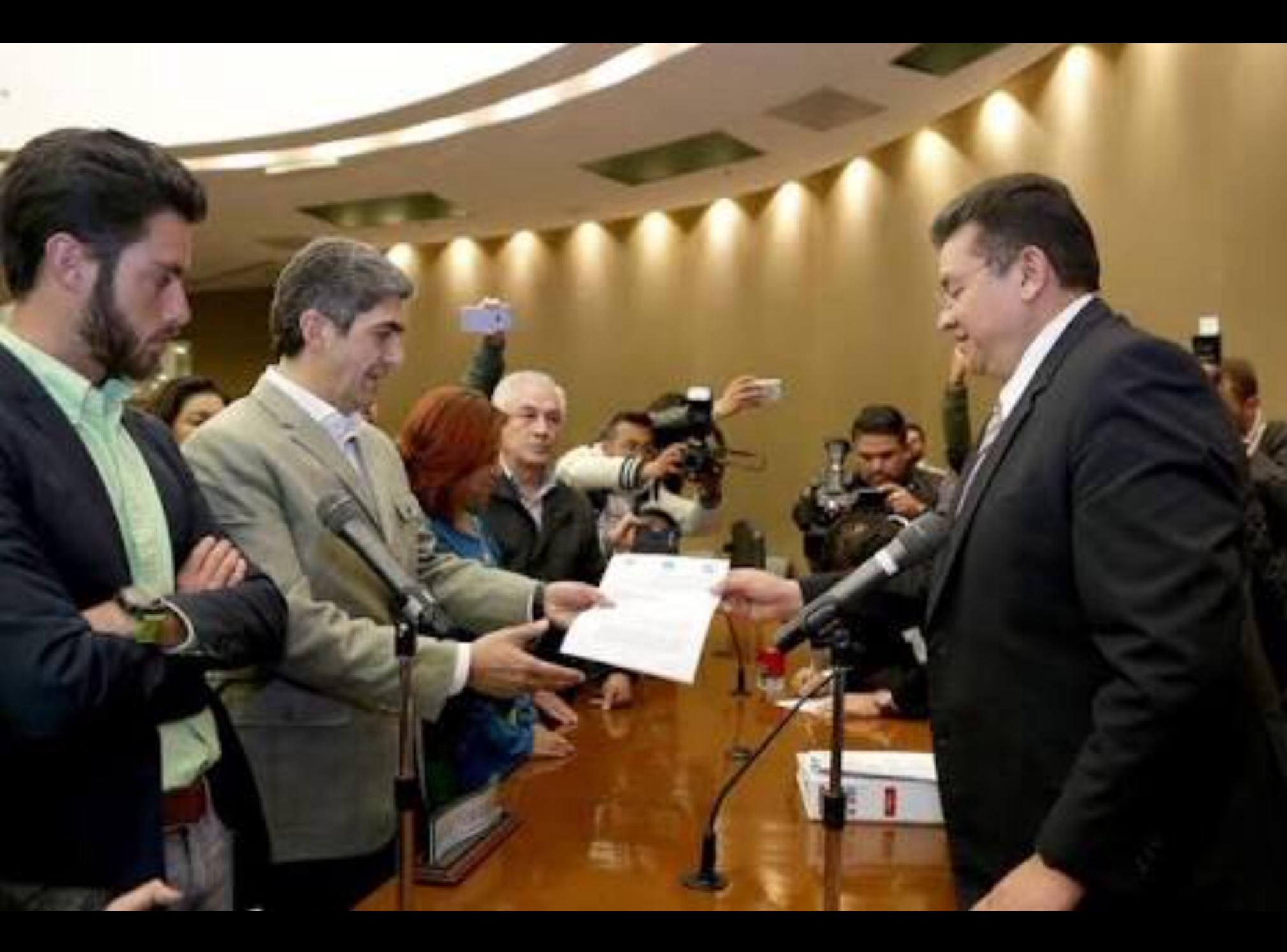 """""""Ni pleito, ni ruptura"""", dicen PRI, PVEM y NA en Edoméx"""
