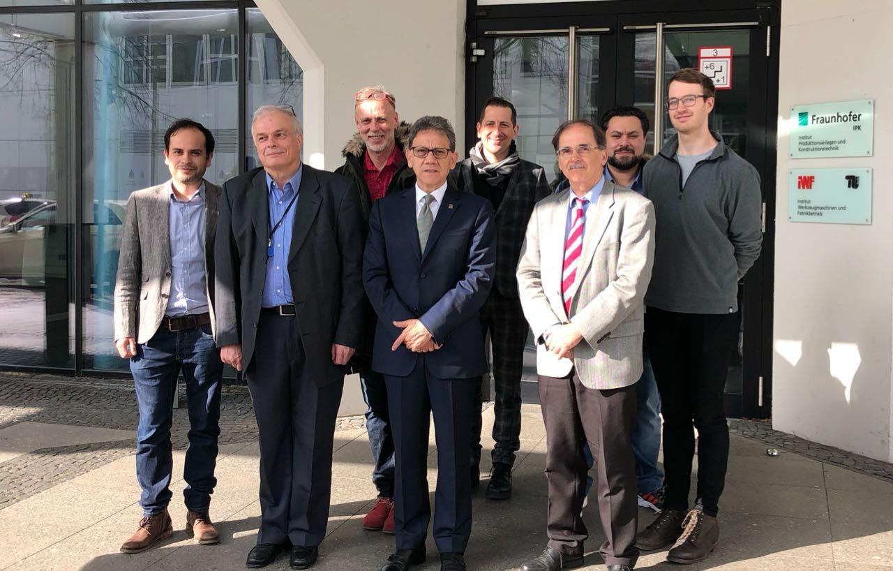 Blindan trabajo académico de UAEM en Alemania